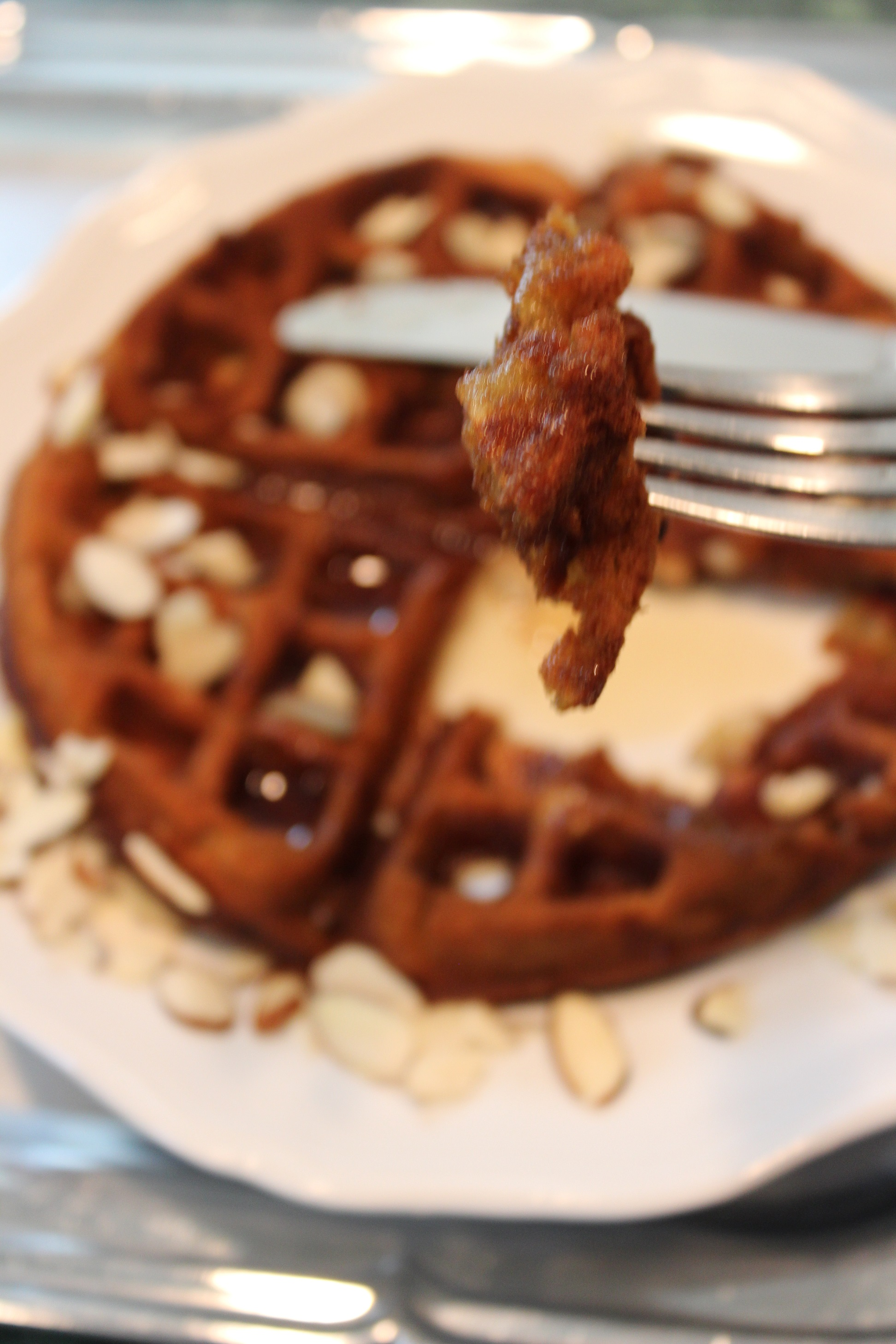 Banana Nut Waffles - In The Kitchen With April