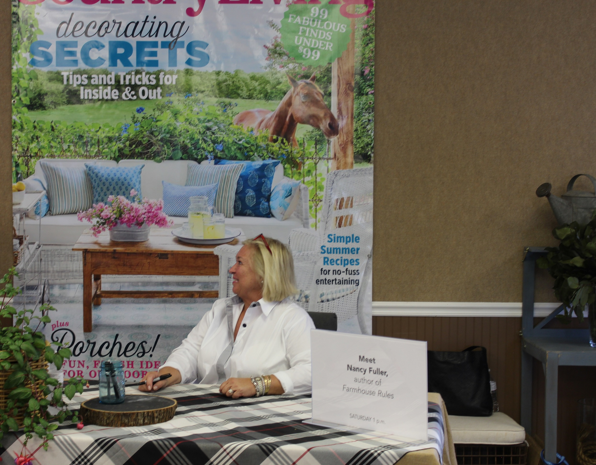 Country living fair nashville 2016 in the kitchen with april for Country living sweepstakes april 2016