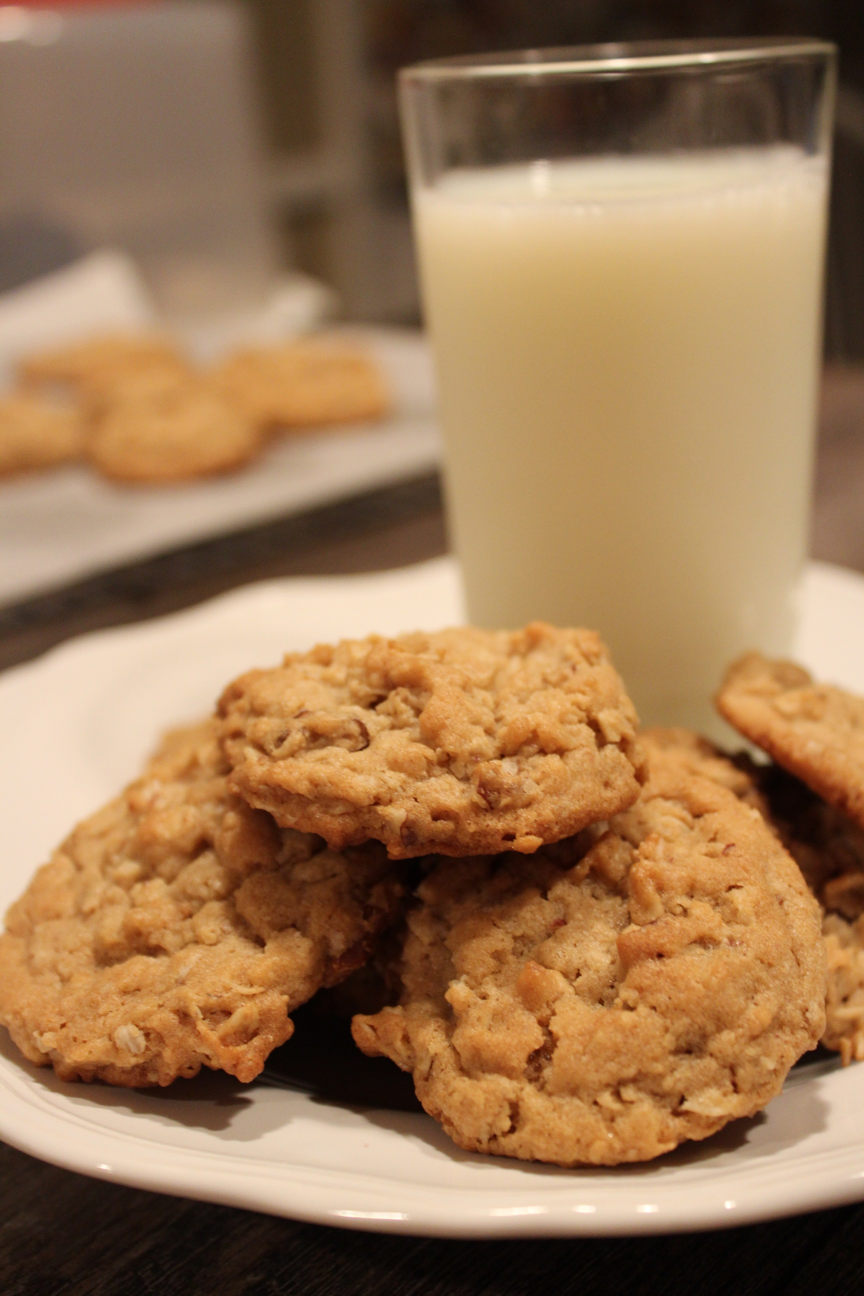 Peanut Butter Pecan Oatmeal Cookies - In The Kitchen With ...